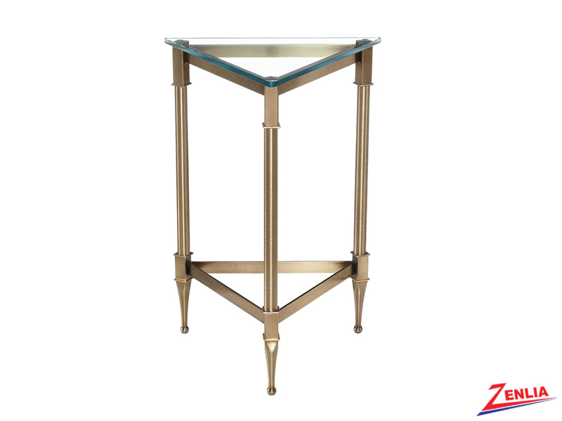 Parthen Triangular Drink Table