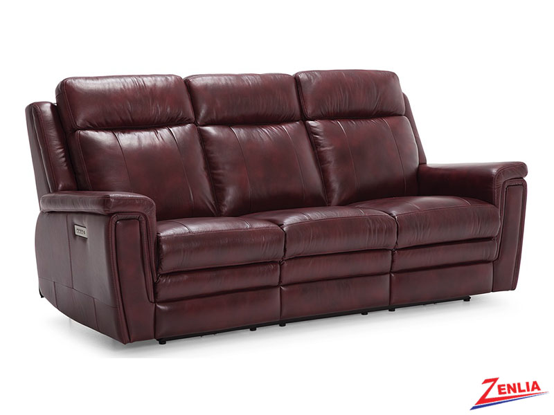 Ash Power Recliner With Lumbar Support