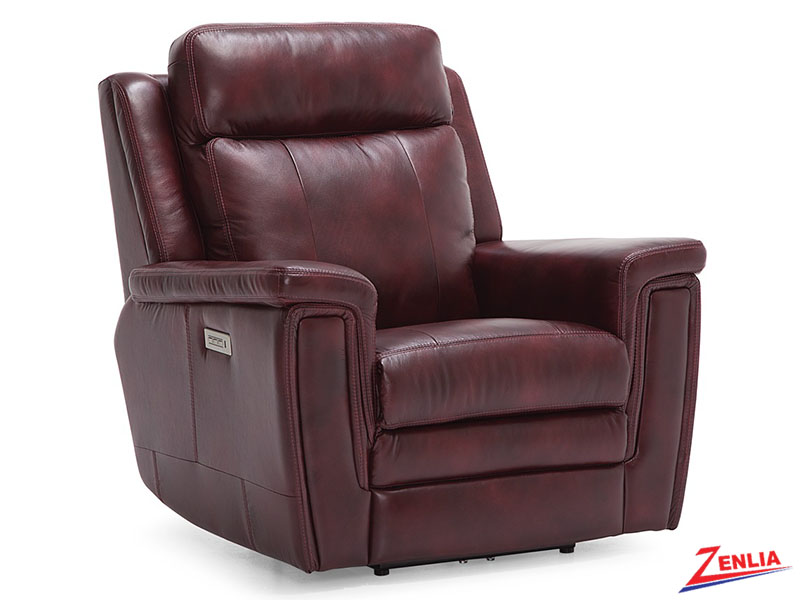 Ash Power Recliner With Lumbar Support Reclining Sofas