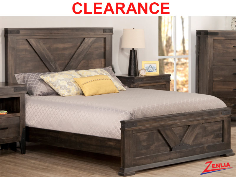 Chatt Solid Wood Bed On Clearance