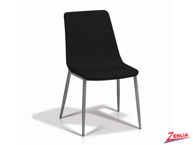 Jada Black Side Chair