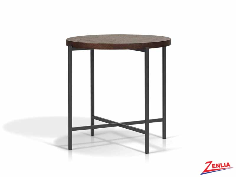Berge Wood End Table