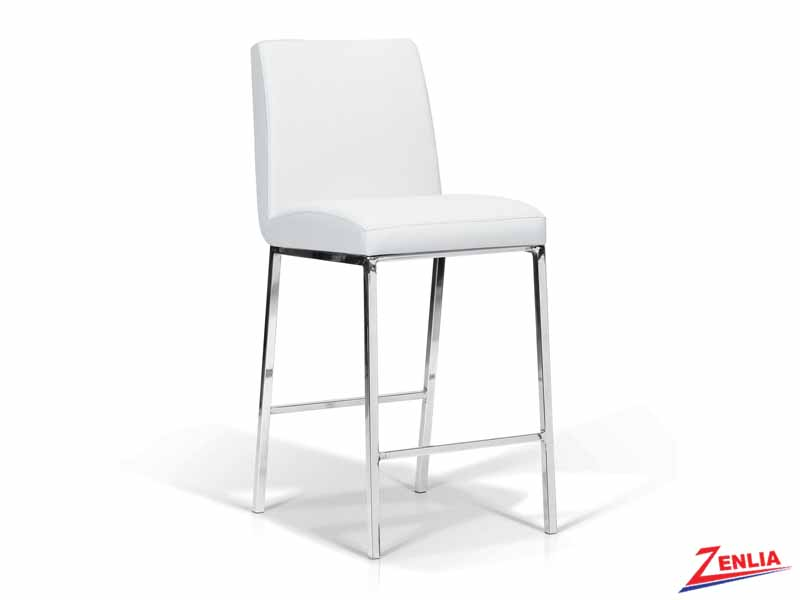 Lama White Counter Stool