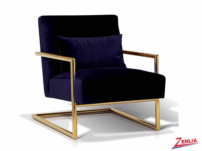 Lockle Indigo Lounge Chair
