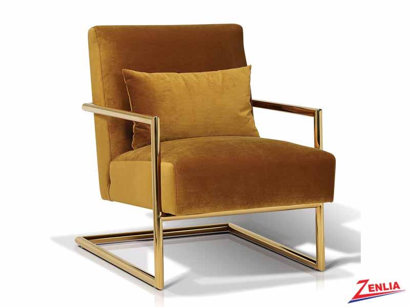 Lockle Mustard Lounge Chair