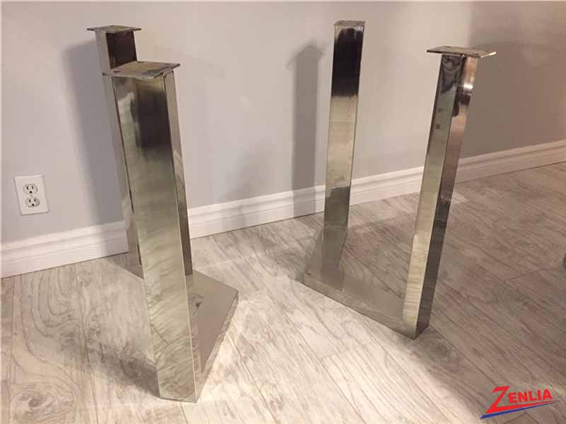 V Shape Stainless Steel Base