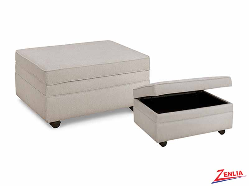 121 Storage Ottoman With Castors