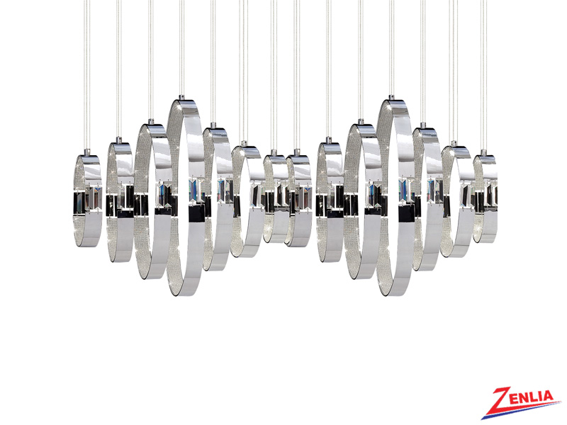 Glad 14 Light Led Chandelier
