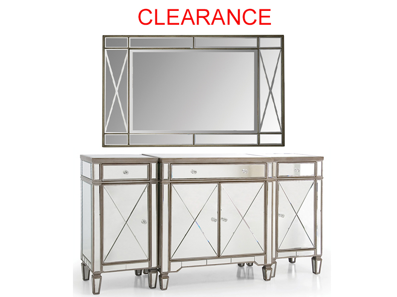 Cabinet With Mirror On Clearance
