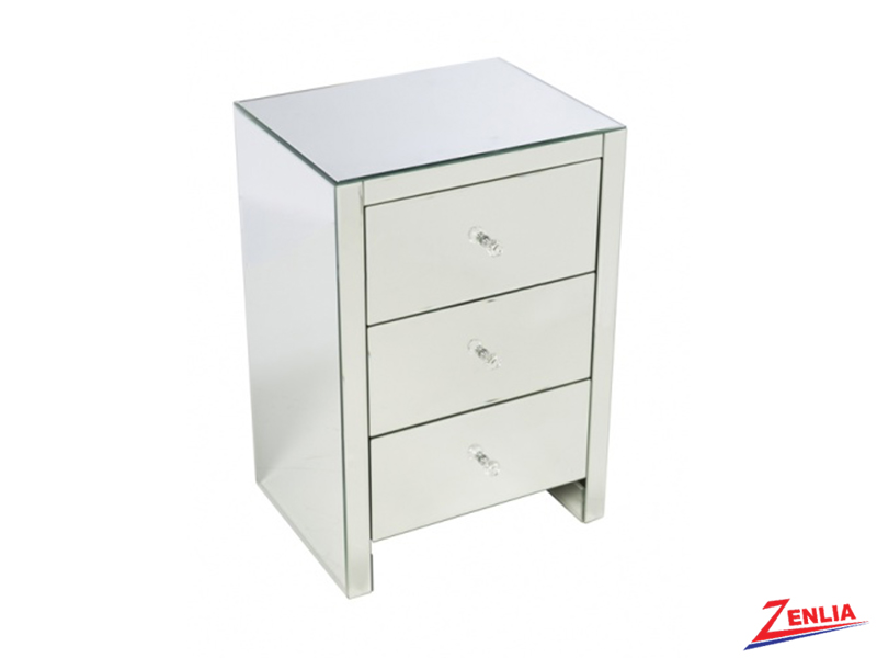 Small 3 Drawer Night Stand