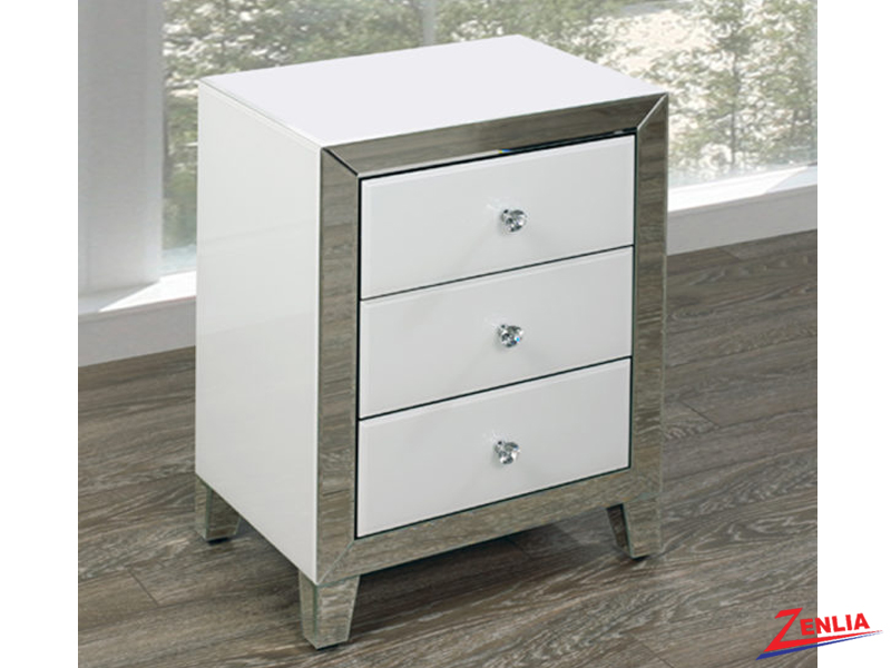 Small White Night Stand