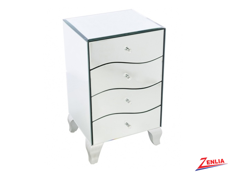 2903 Mirrored Night Stand