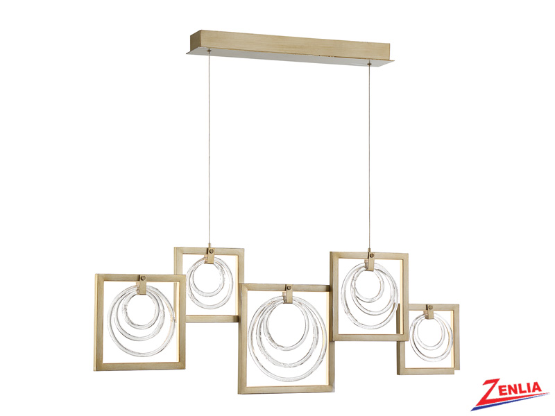 Cori 5lt Led Linear Chandelier