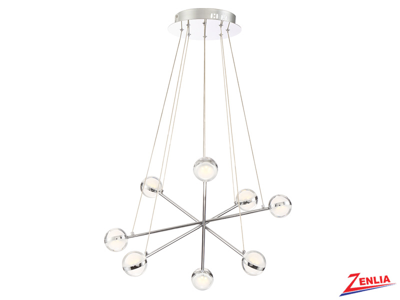 Laz 8 Light Led Chandelier