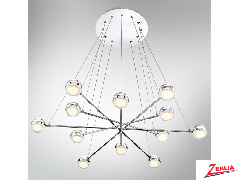 Laz 12 Light Led Chandelier