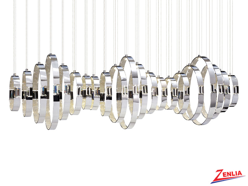 Glad 21 Light Led Chandelier