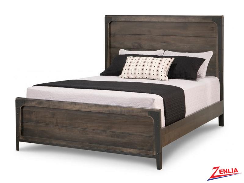 Port Panel Bed With Low Footboard