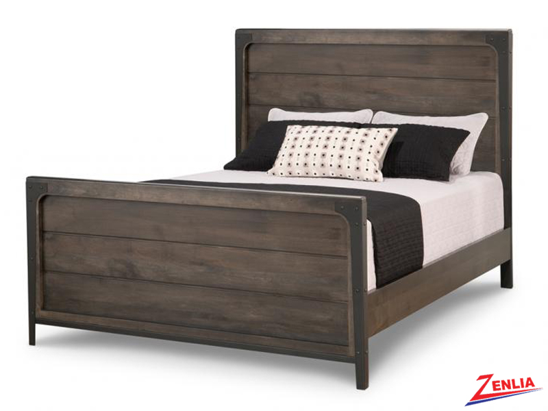 Port Panel Bed With High Footboard
