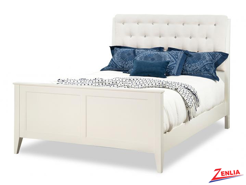 Monti Bed With High Footboard