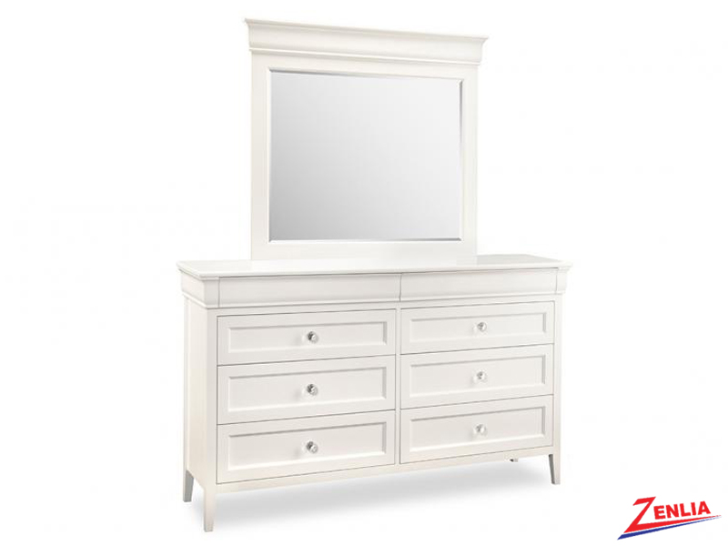 Monti 8 Drawer Dresser With Mirror