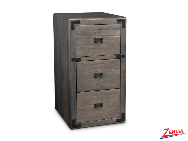 Sara 3 Drawer File Cabinet