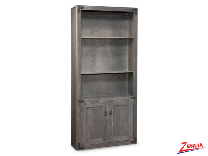 sara-37-wide-open-bookcase-with-doors-image