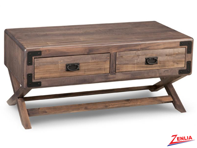Sara X Base Rectangular Coffee Table