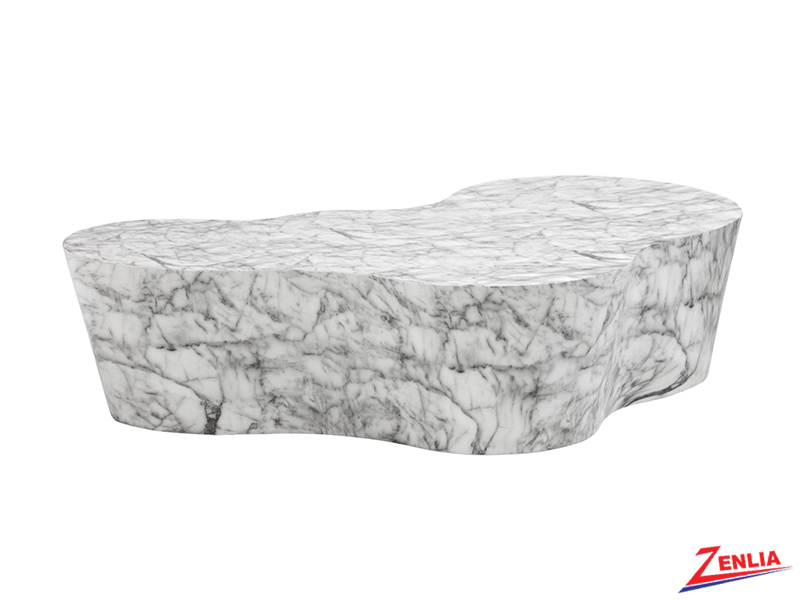 Va Coffee Table Concrete With Marble Look