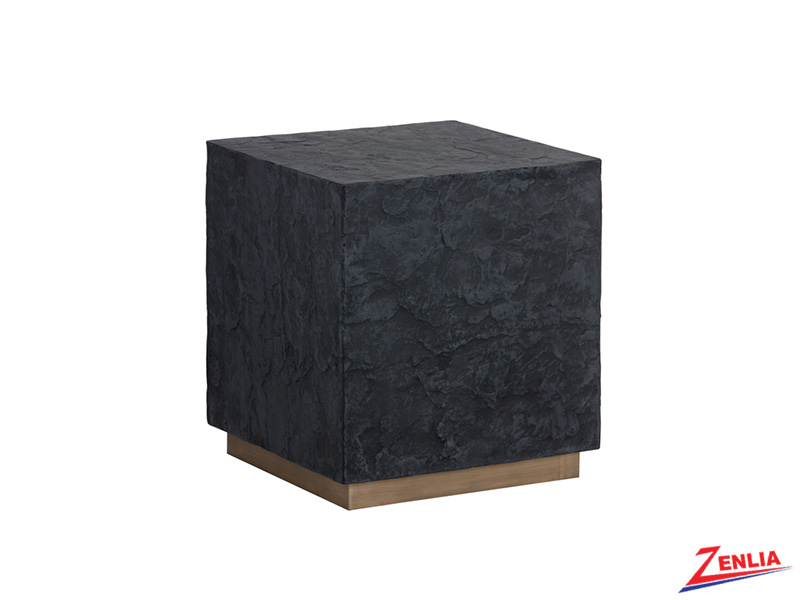 Newb Black End Table
