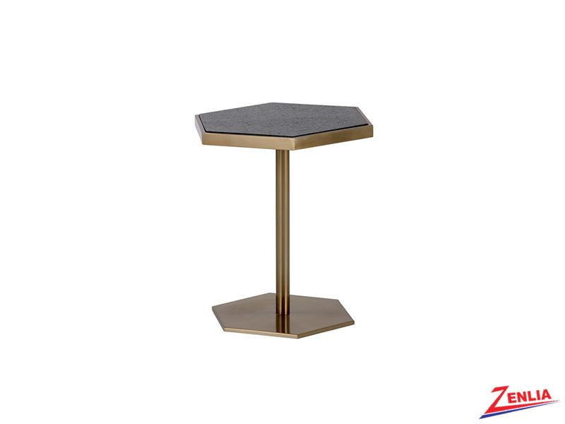 Seba Brass End Table
