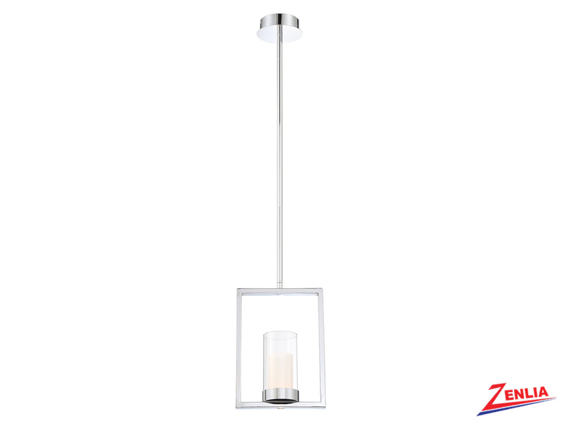 Lond Led Chrome Pendant