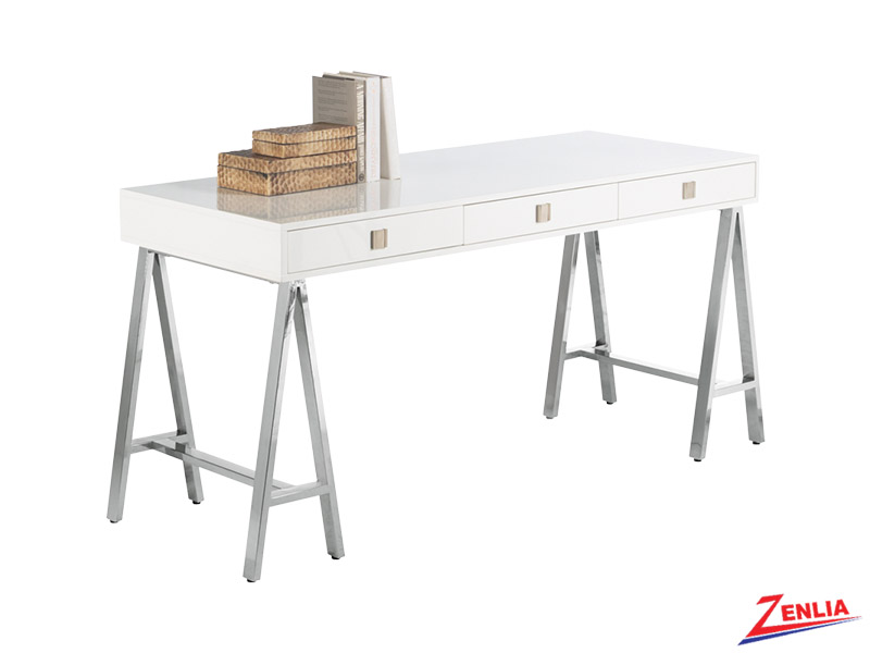 Emba White Desk
