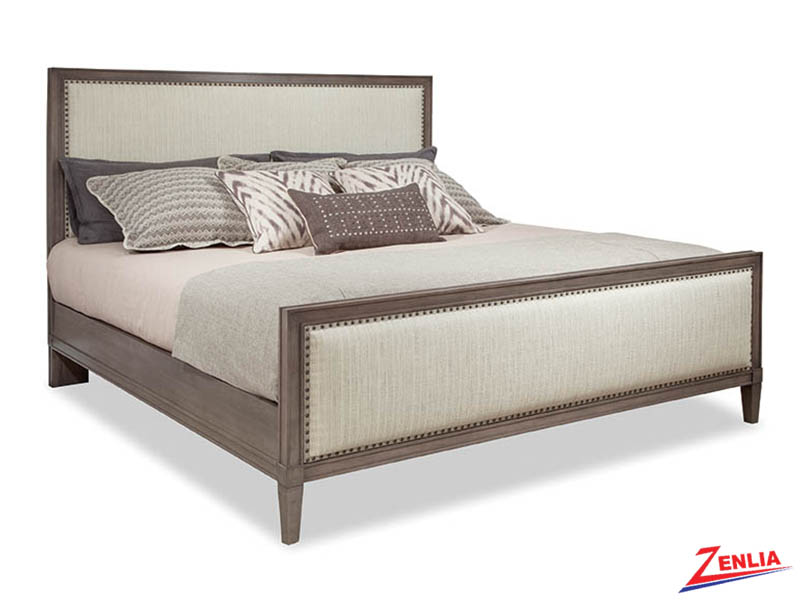 Promin Panel Upholstered Bed