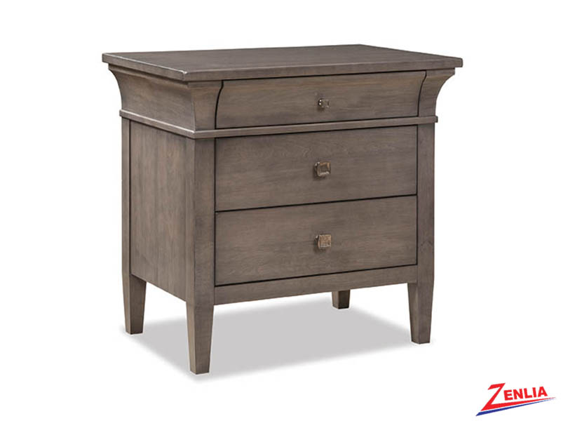 Promin Three Drawer Night Stand