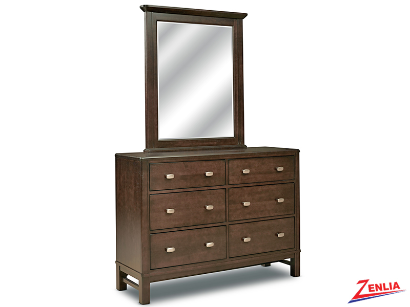 West Double Dresser & Mirror