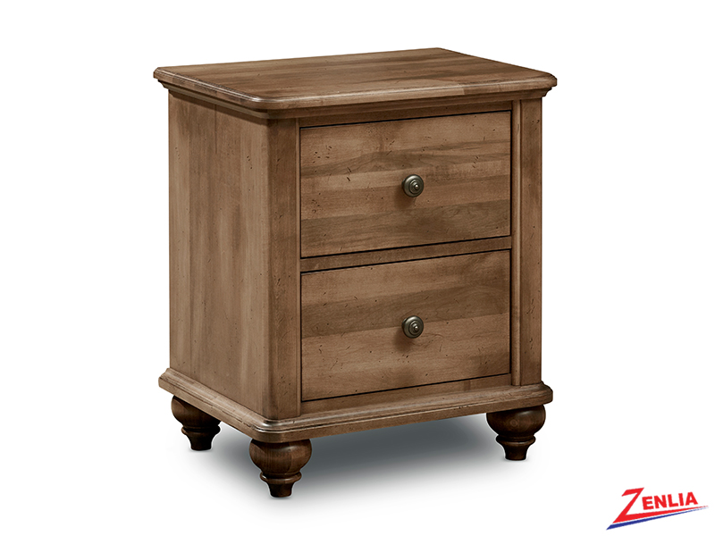 Mill Two Drawer Night Stand