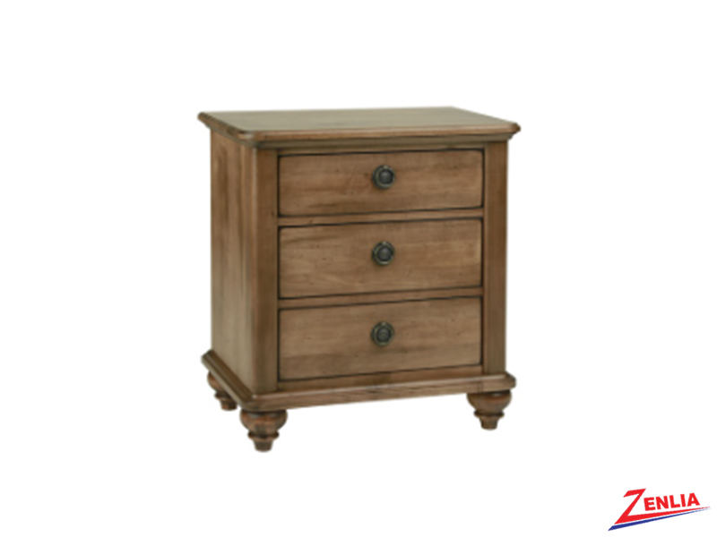 Mill Three Drawers Night Stand