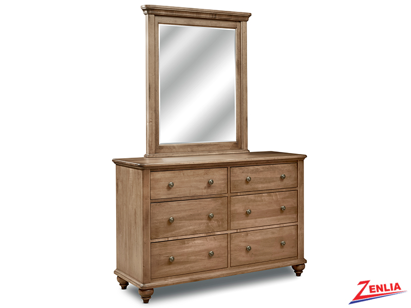 Mill Double Dresser And Mirror