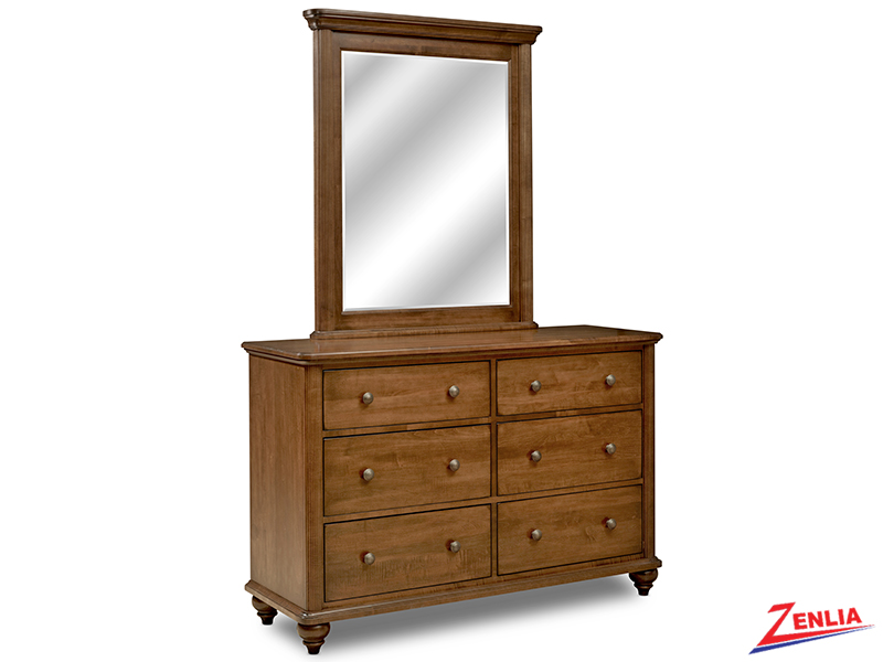 South Double Dresser And Mirror
