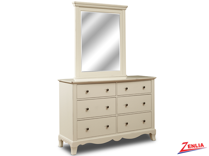 Montel Double Dresser And Mirror