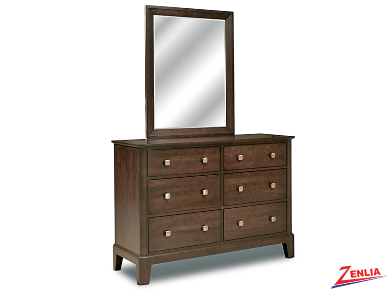 Urbane Double Dresser And Mirror