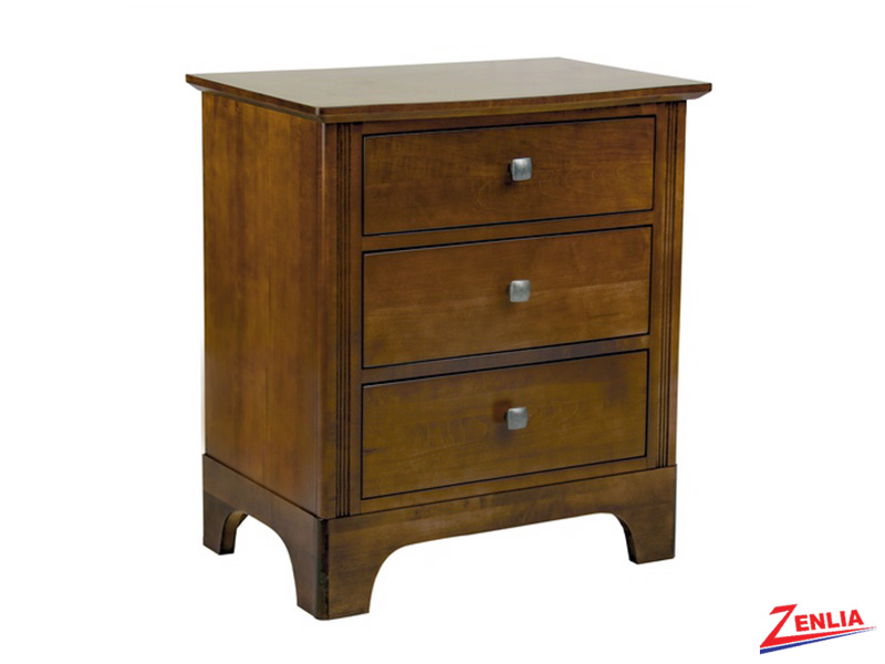 Montgo Three Drawers Night Stand