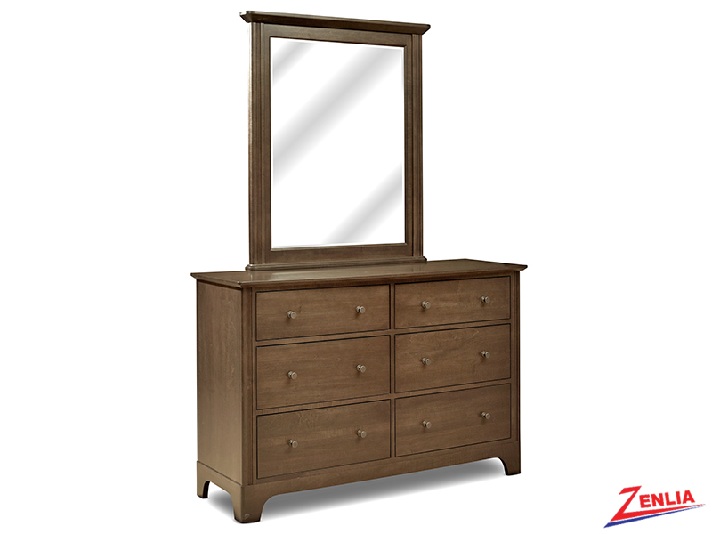 Montgo Double Dresser And Mirror