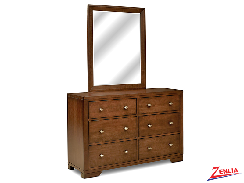 Symet Double Dresser And Mirror