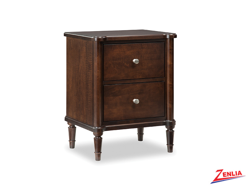 High Two Drawers Night Stand
