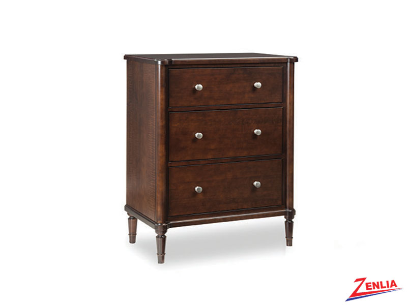 High Three Drawers Night Stand