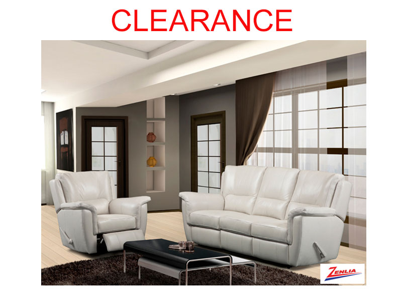 9008 Recliner Sofa Set On Clearance