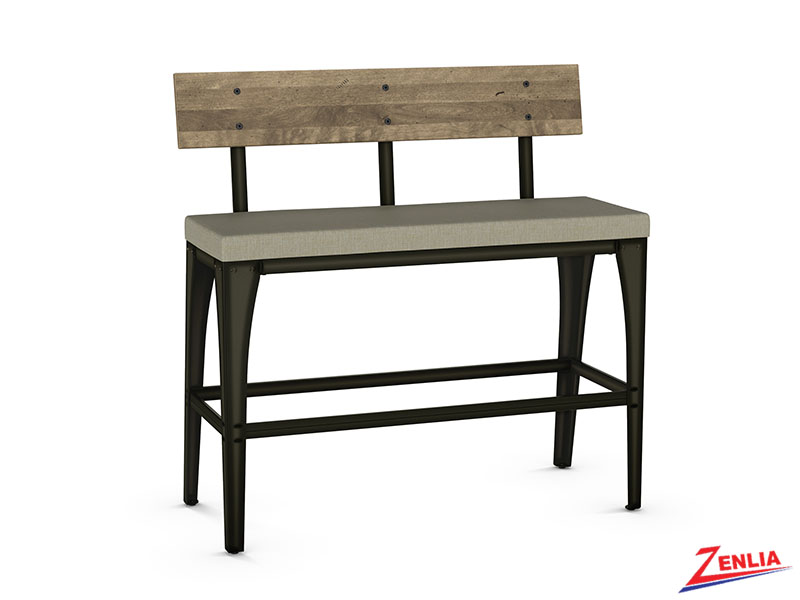 Style 40-272 Fabric Metal Bench