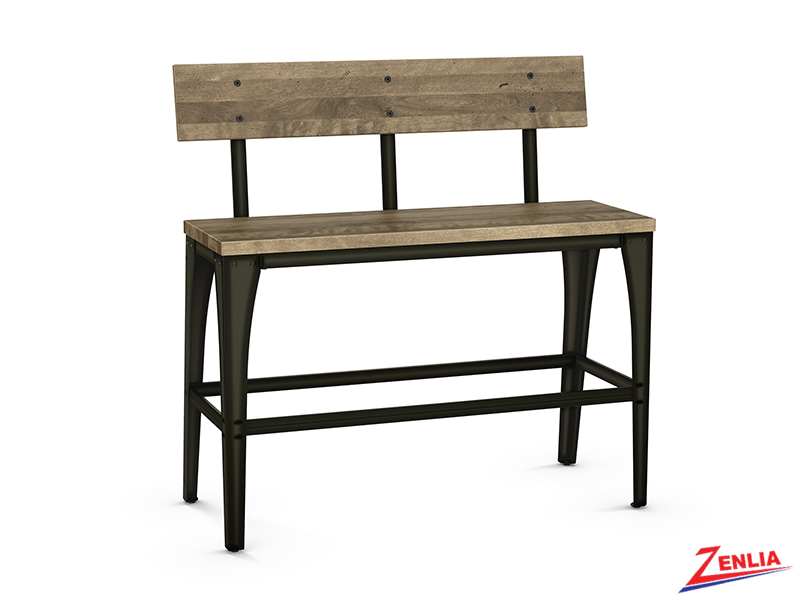 Style 40-272 Metal Wood Bench