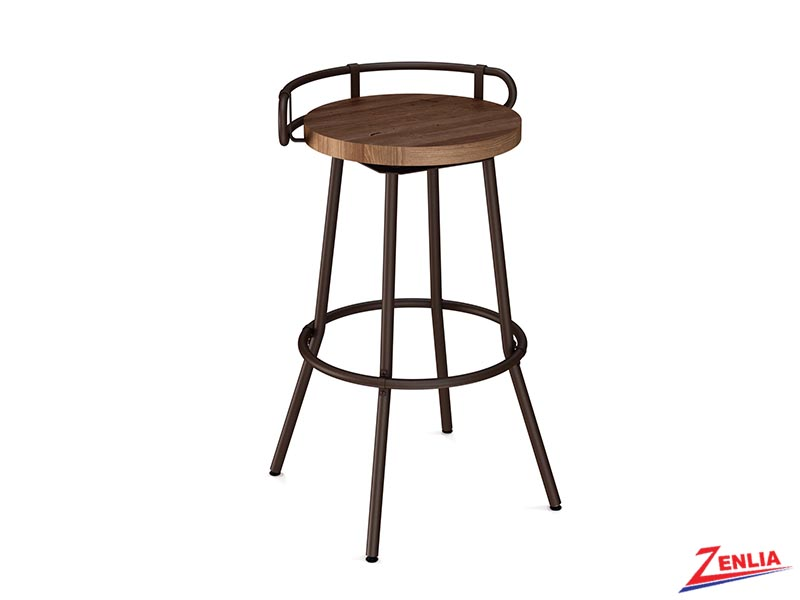 Style 41-565 Distressed Wood Swivel Stool